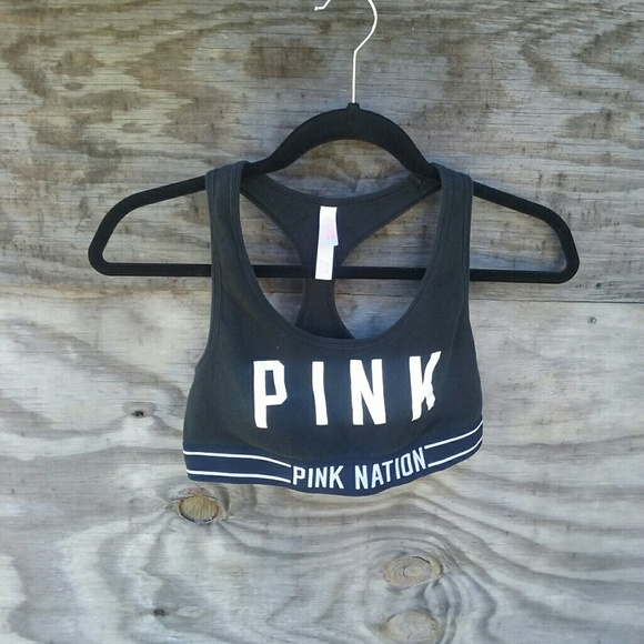 1bc3f62e143a7 🍩VS Pink Nation Pink Crop Bra🍩